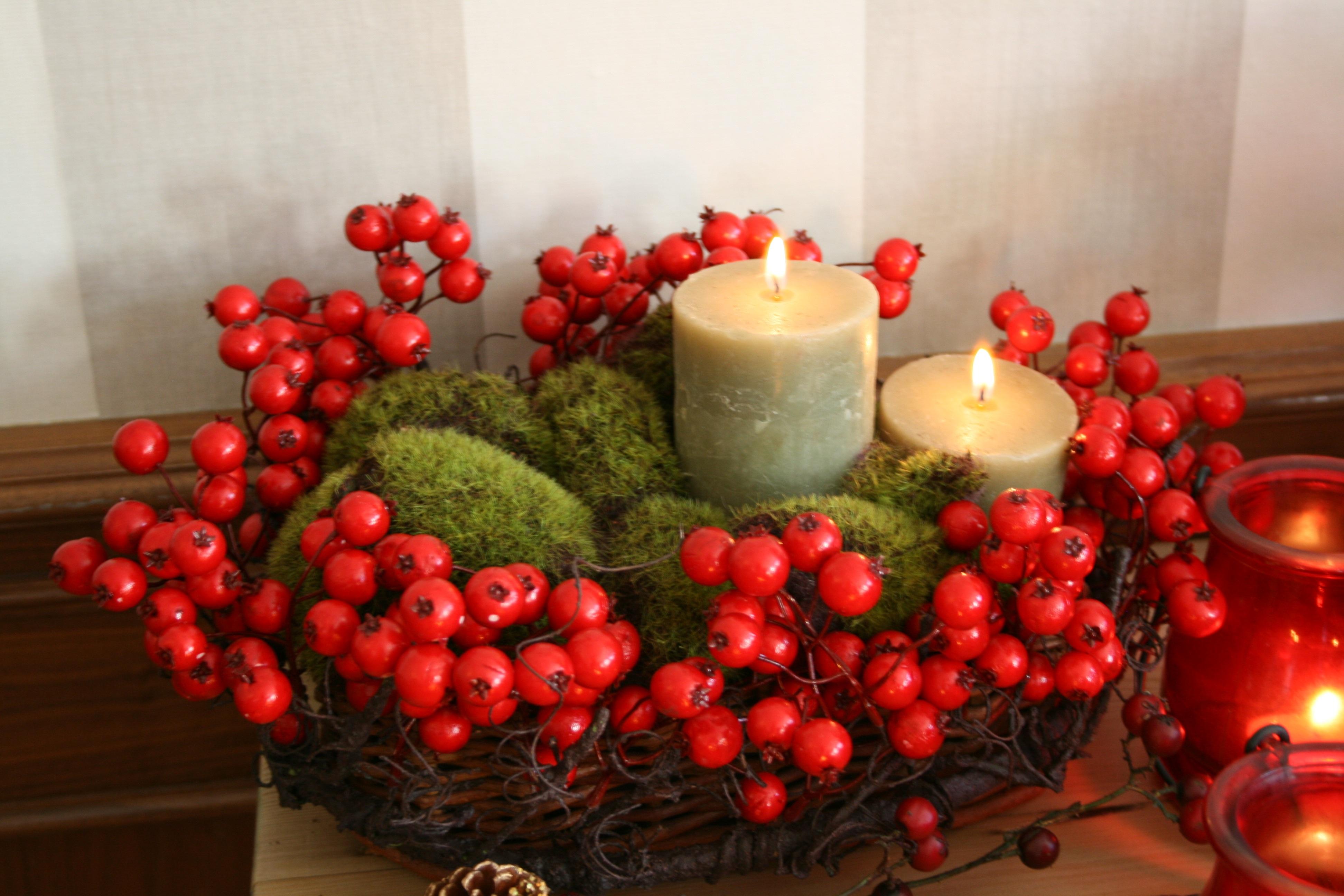 Velas el blog de fiore p gina 2 for Centros navidenos con velas