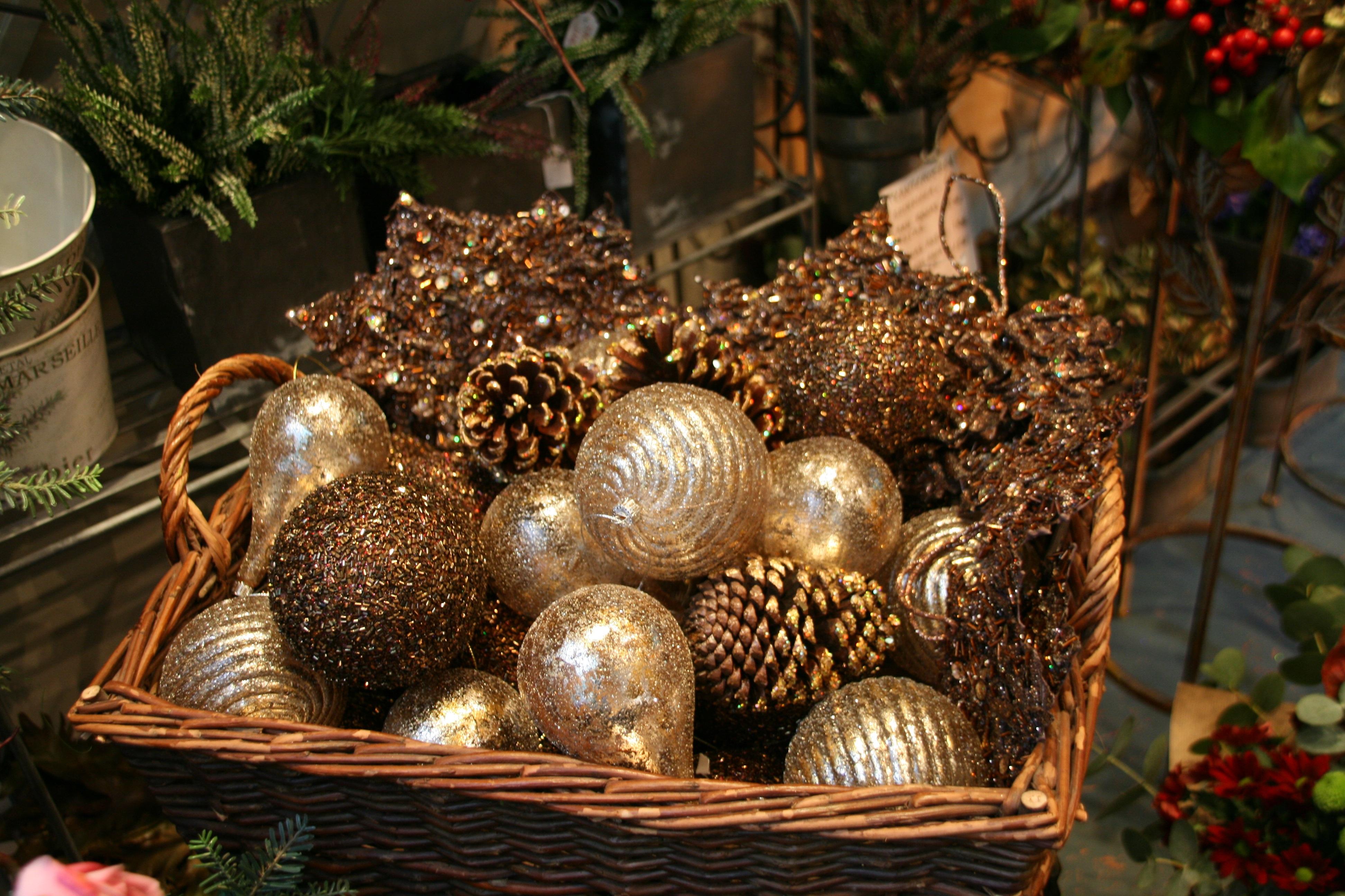Compra online el blog de fiore for Cesta arbol navidad
